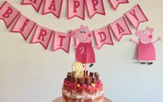 Die DIY Peppa Pig Party zum Kindergeburtstag