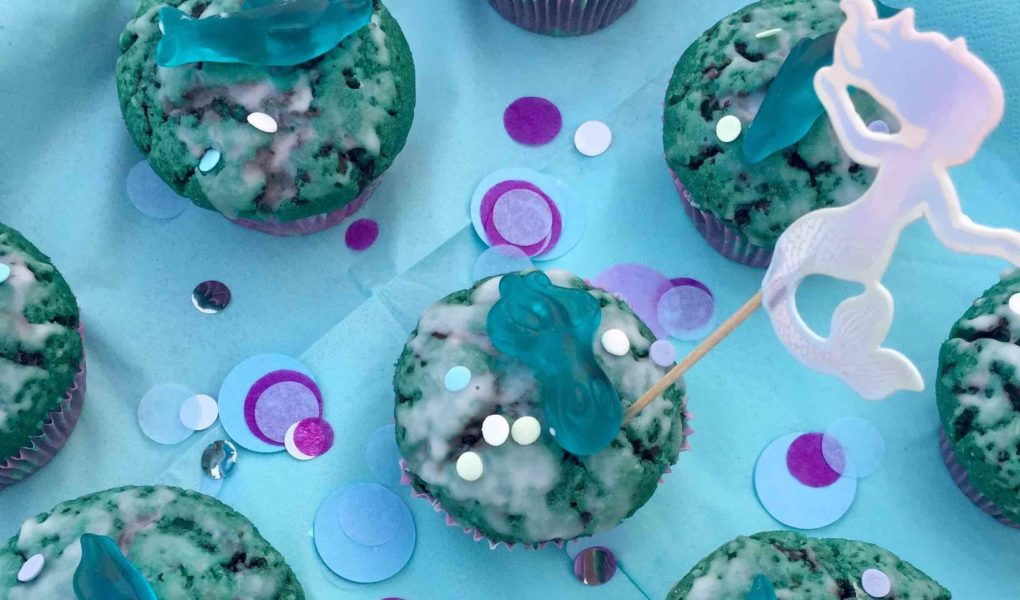Meerjungfrauen Party zum Kindergeburtstag
