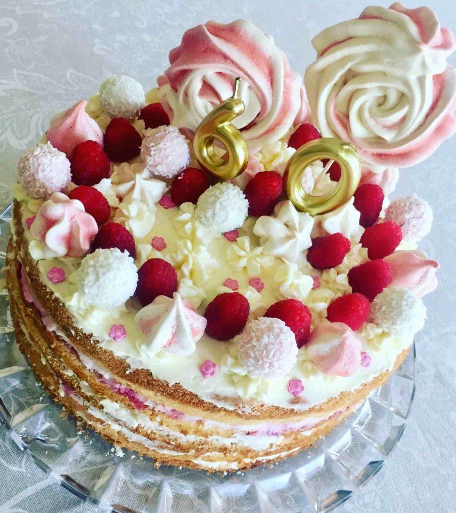 Zum Sommergeburtstag eine Torte mit der Summer Edition von Raffaelo