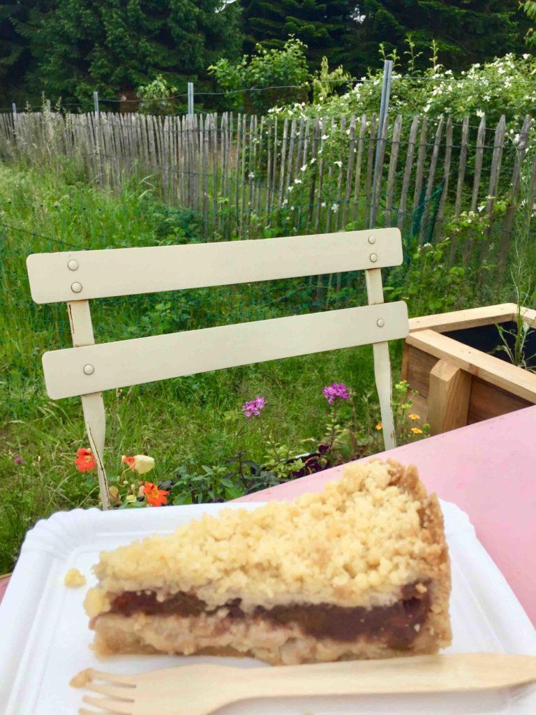 Der selbstgebackene Kuchen ist das köstliche Highlight in unserem Lieblingscafé in Lüneburg