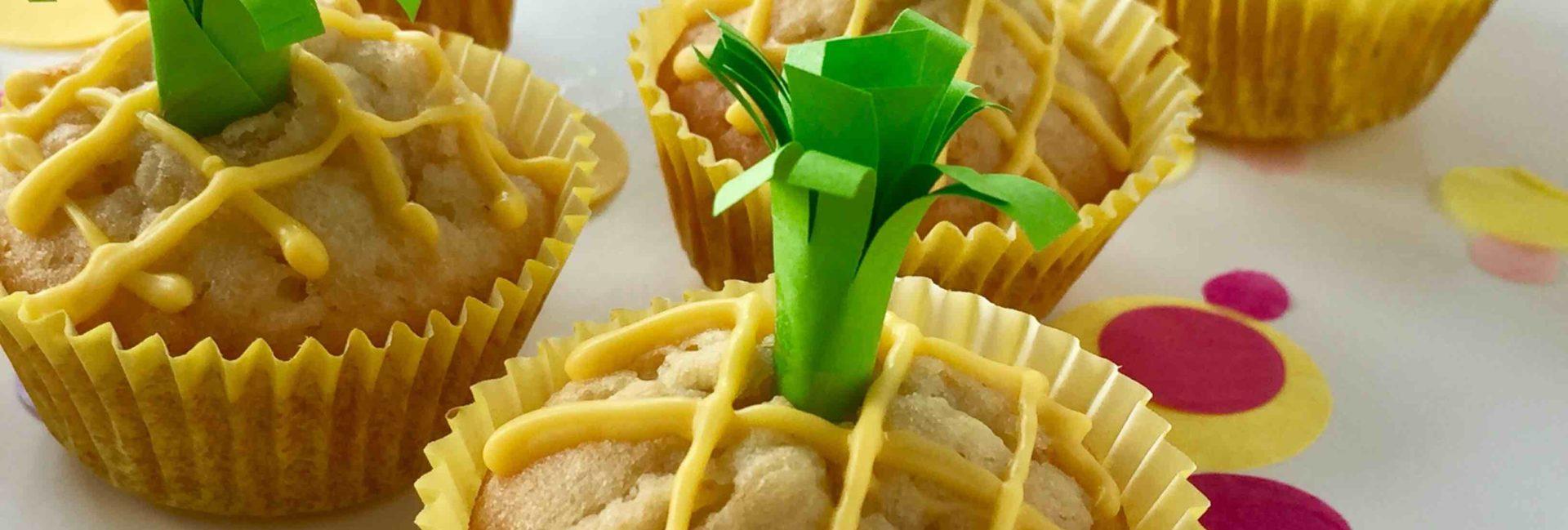 Kleine Mini Muffins für als Fingerfood für den nächsten Kindergeburtstag