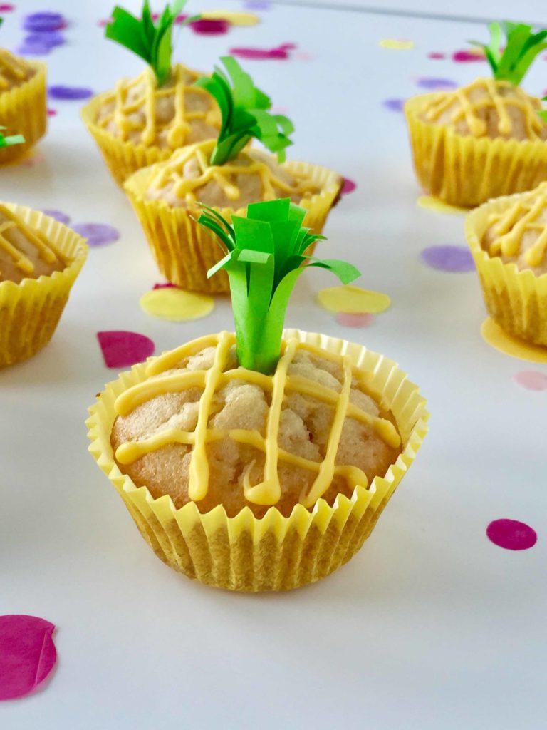 Mini Muffins für die nächste Tutti Frutti Mottoparty