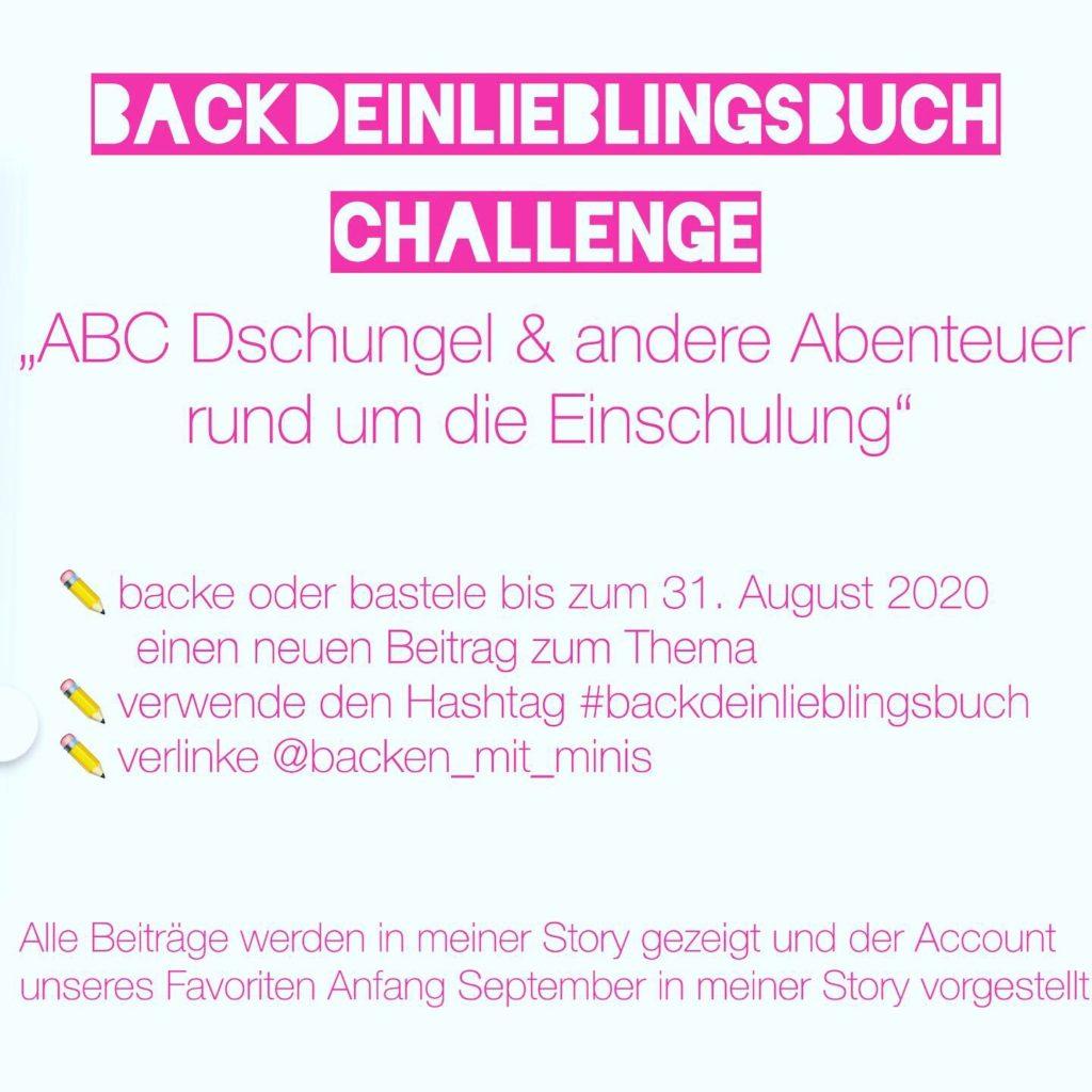 Das Buch zur Back-Challenge Back' dein Lieblingsbuch im August