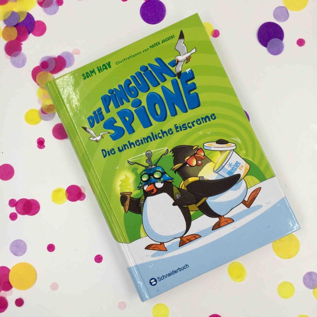 Die Pinguin Spione sind die Paten für diese Back' dein Lieblingsbuch Challenge - die Back-Challenge für das Backen mit Kindern