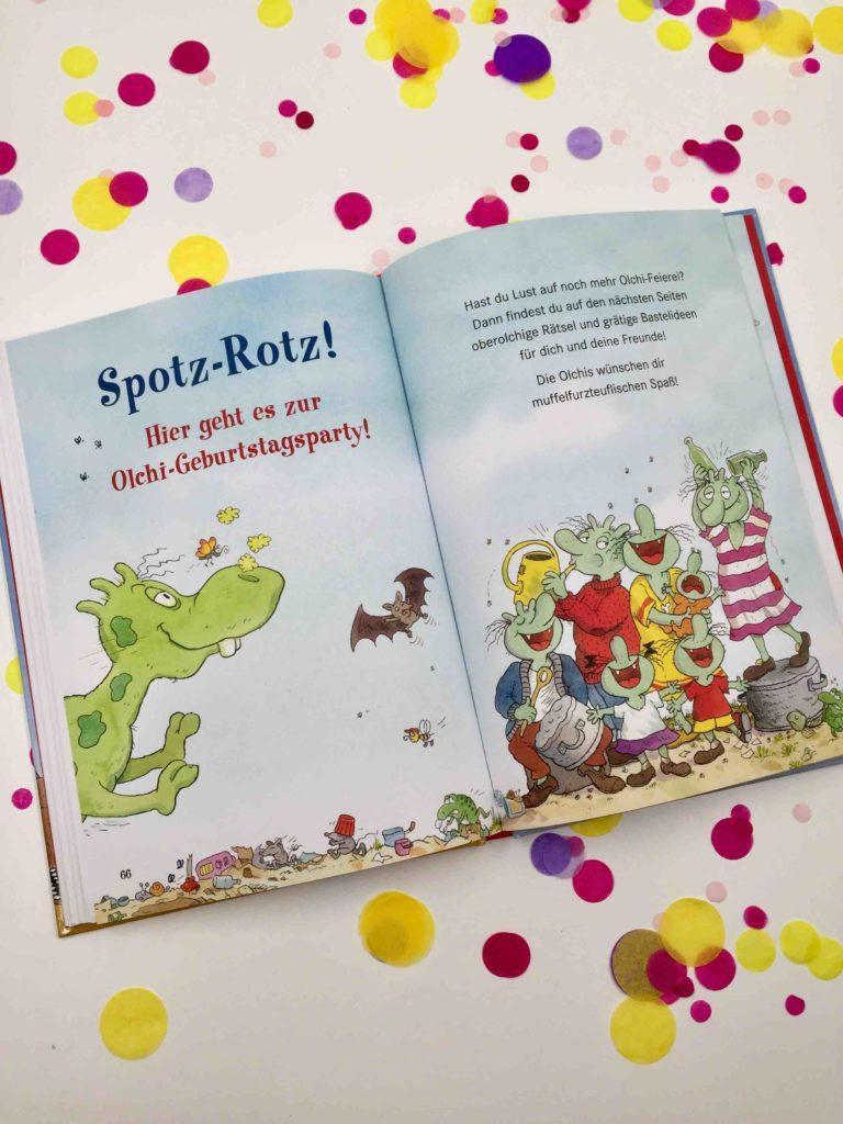 Die Orchis auf Geburtstagsreise als Pate für die Back dein Lieblingsbuch Challenge - Backen mit Kindern